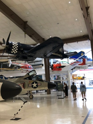 At the Naval Aviation Museum, Pensacola